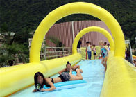 crazy long adults inflatable water slide slide the city 1000ft slip N